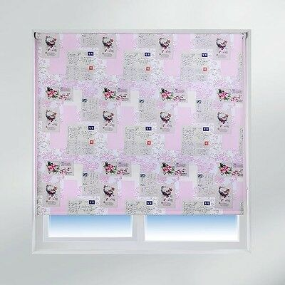 Sunlover THERMAL BLACKOUT Roller Blinds. Memory Lane. Sizes 60cm to 240cm
