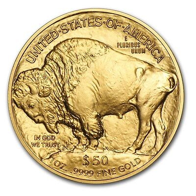 1 oz American Buffalo $50 Gold Coin - Random Year US Mint Gold Buffalo 1 oz