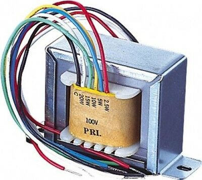 100V Line Transformer with 1.9, 3.75, 7.5, 15, 30W Tappings