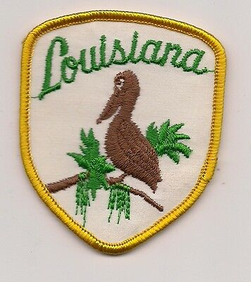 State Of Louisiana Souvenir Patch