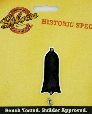 Gibson Guitar Historic Spec 1959 Truss Rod Cover Black PRTR-120 ww ship