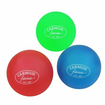 Carnegie Handtrainer Fingertrainer 3x Therapieball Finger Hand Anti-Stress-Bälle