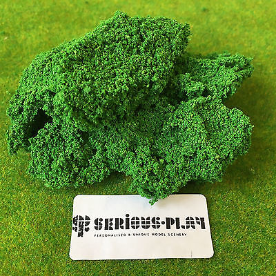 Spring Mix Textured Bush Foliage 1kg -Wholesale Model Scenery Clump Hedge layout