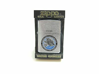 1996 Unfired / New Zippo Pennsylvania Game Commission Lighter Number 73 Of 100