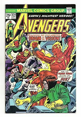 Avengers Vol 1 No 134 Apr 1975 (VFN) Marvel, Bronze Age (1970 - 1979)