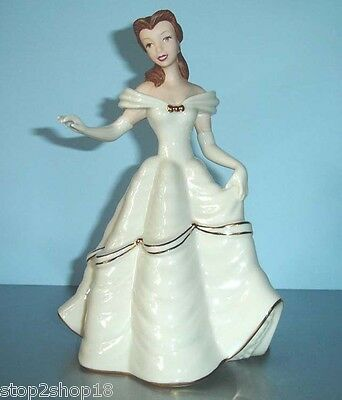 Lenox Disney My Heart Is Yours BELLE Figurine Beauty & The Beast New!
