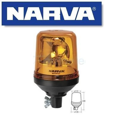 Narva Pole Pipe Mount Base Rotating Light Beacon Amber 12V 12 24 Volt New 85654A