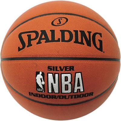 Spalding Basketball Silver In/Out Indoor/Outdoor Streetbasketball 3001595010017