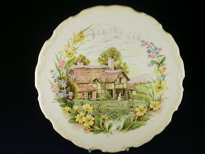 Royal Albert Spring Cottage Garden Display Plate