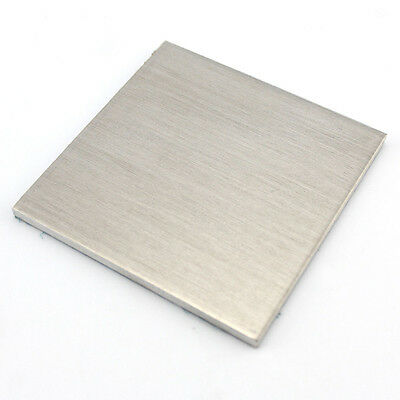 1pcs Aluminium Sheet Plate Metal For DIY Model Craft 1/2/3/5/6mm Choose Sizes