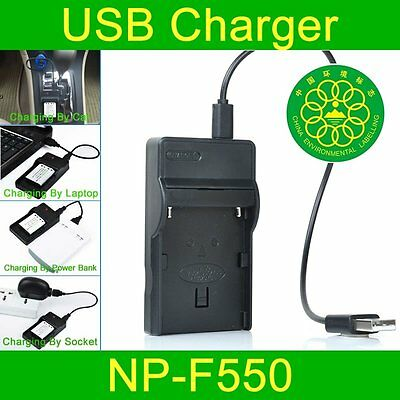 Battery Charger for Sony NP-500 NP-500H NP-520 NP-720 NP500 NP500H NP520 NP720