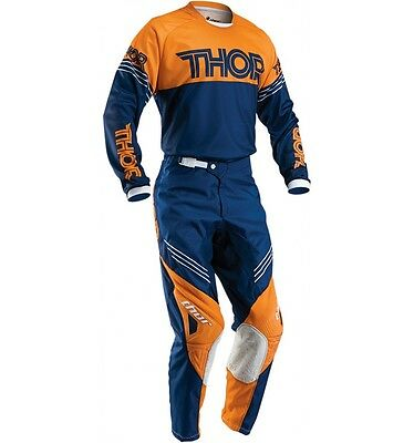 New 2016 32 M Thor hyperion Jersey Pants Kit Motocross Enduro ORANGE/Blue KTM