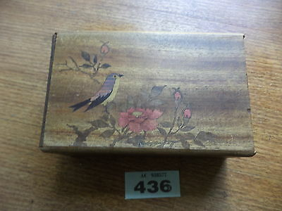 Japanese puzzle box for restoration / spares wooden box