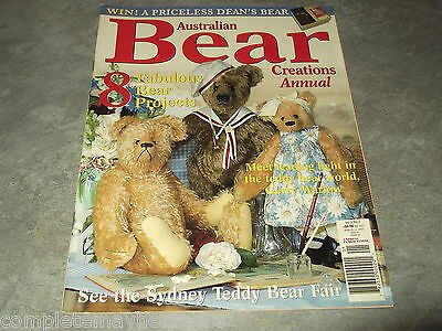 Australian Bear Creations Vol 9 No. 2 Making Teddy Bears