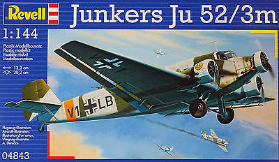 REVELL® 04843 WWII German Junkers Ju52/3m in 1:144