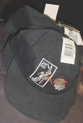 BUGS BUNNY TAZ US MAIL STAMP HATS USA USPS MAIL CARRIER POST '97 Postal Service