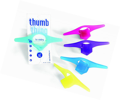 Thumb Thing Book Page Holder and Bookmark, Xlarge (TPG-TT4)