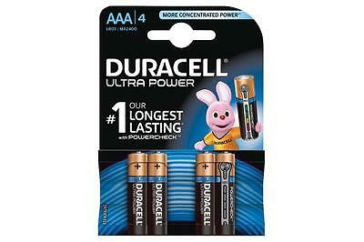 Duracell 656.971UK Ultra Power Alkaline Battery Pack of 4 w/ Duralock Technology