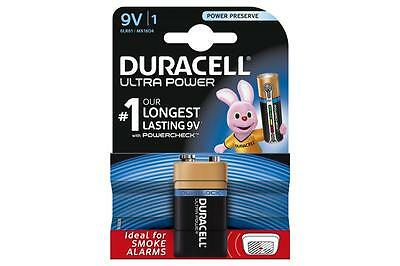 Duracell 656.972UK Ultra Power Alkaline Battery Pack of 1 w/ Duralock Technology