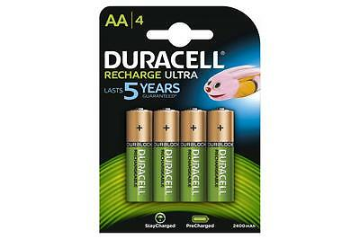 Duracell 656.985UK NiMH 2400mAh Ultra Long Lasting Power Rechargable Battery
