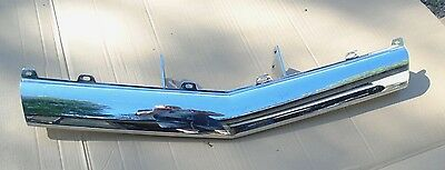 1962 Cadillac Fleetwood DeVille Eldorado Chrome Front Bumper Center 62
