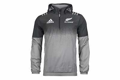 adidas New Zealand All Blacks 2017/18 All Weather Rugby Jacket