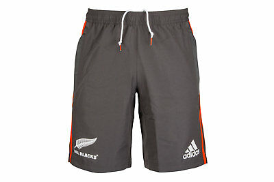 adidas New Zealand All Blacks 2017/18 Woven Rugby Training Shorts