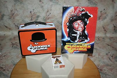 Clockwork Orange Metal Tote Lunch Box  Playing Cards Tin Art Sign Collection!