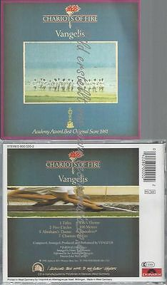 Cd--Vangelis--Chariots Of Fire | Soundtrack