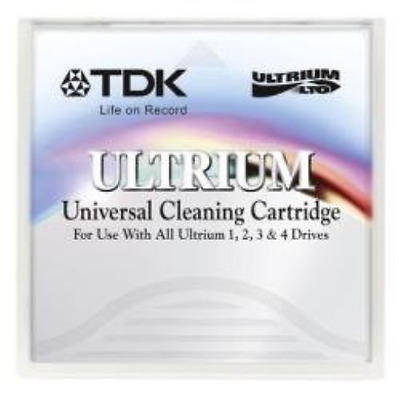 TDK LTO Ultrium Cleaning Cartridge for LTO Tape Drives Ref D2404-CC
