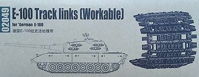 TRUMPETER® 02049 Workable Track Links for German Tank E-100 in 1:35