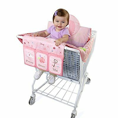 DISNEY PRINCESS Pink Baby Girl 3-in-1 SHOPPING CART COVER High Chair Play Mat