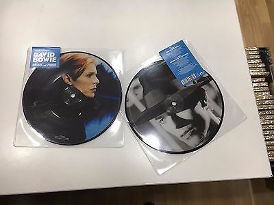 """David Bowie Picture Disc 7"""" Sound And Vision 40Th Anniversary"""