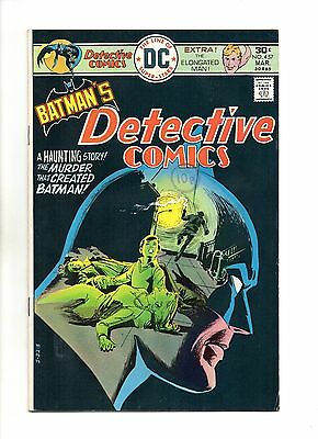 Detective Comics No 457 Mar 1976 (VFN)DC,Bronze Age, 1st app of Leslie Thompkins