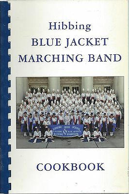 Hibbing Mn 1997 Blue Jacket Marching Band Cook Book Minnesota Community Recipes