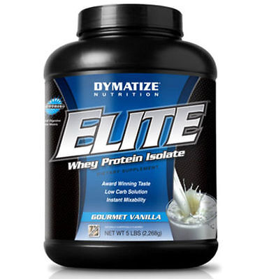 Dymatize Elite 100% Whey Protein Powder Muscle Growth INFORMED-SPORT registered
