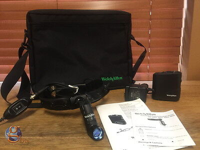 * NEW * Welch Allyn Solid State 49020 Procedure Headlight System Case & Battery