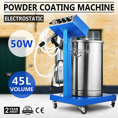 Wx-958 Powder Coating System Machine Industrial Manual 50W Paint System Newest