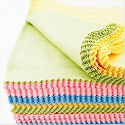 20pcs Microfiber Cleaner Cleaning Cloth For Phone Screen Camera Lens Eye Glasses