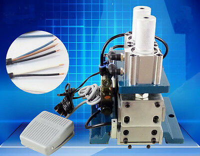 ECO Desktop Pneumatic Flat Ribbon Cable Wire Stripping Peeling Machine 220V