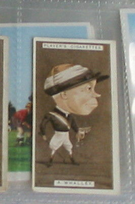 #39 Albert Whalley horse racing - 1925 cigarette card