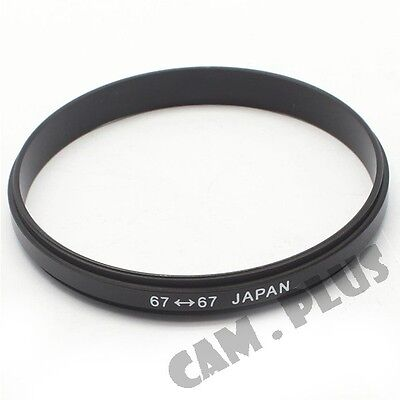Male 67mm-67mm 67-67 mm Macro Reverse Ring Adapter