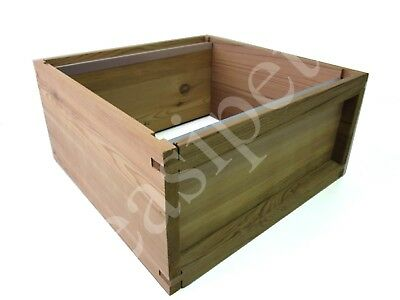 National Bee Hive Cedar Brood Box New Beekeeping Bee Keeping Easibee Beehive 179