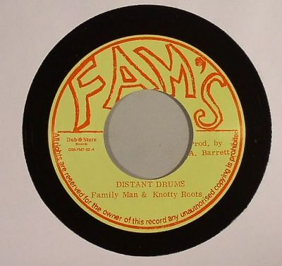 """FAMILY MAN/KNOTTY ROOTS - Distant Drums - Vinyl (7"""")"""