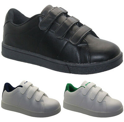 New Mens Running Trainers Fashion Casual Velcro Gym Walking Sports Shoes Sizes