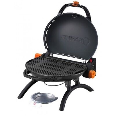 Iroda O-Grill 500 Portable Gas BBQ Clamshell Camping Caravan Travel Compact