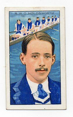 #41 RWG holdsworth oxford rowing Sport cigarette card