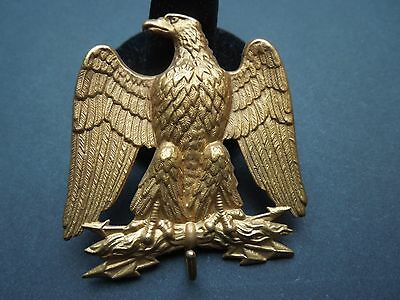N414 Antique  French Eagle  Pin  Very  Nice  Detailed See Descr