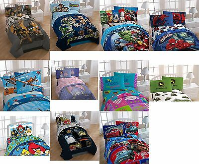 Disney Boys & Girls 3 Pcs Twin Sheet Set Official Licensed New