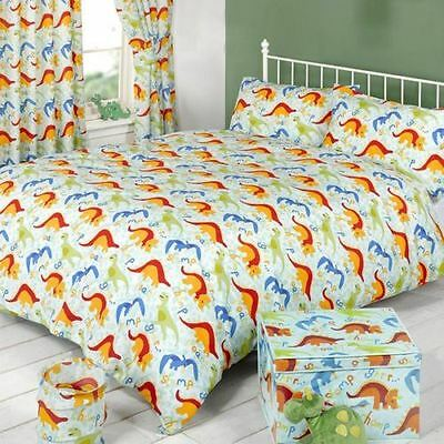 Mucky Fingers Childrens Dinoworld Duvet Cover Bedding Set (Double) (Dinoworld)